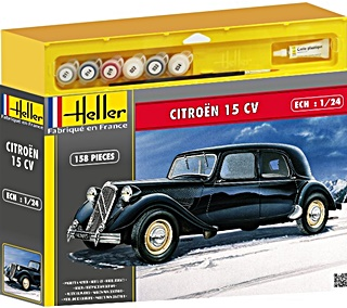 CITROËN 15CV EN SET 1/24
