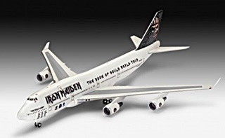BOEING 747 IRON MAIDEN 1/144