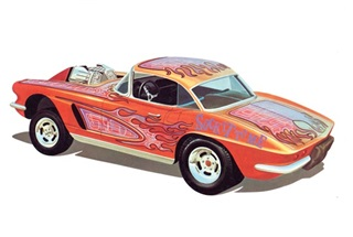 CHEVROLET CORVETTE TUNING 1962 1/25