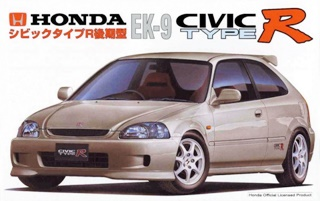 HONDA CIVIC TYPE R 1/24