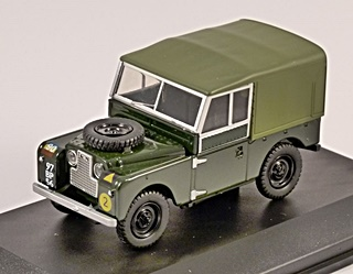LAND ROVER 88 SERIE 1  HARD TOP 1/43