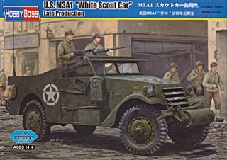 USA M3A1 WHITE SCOUT CAR 1/35