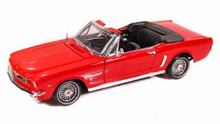 FORD MUSTANG CABRIOLET 1964 1/18