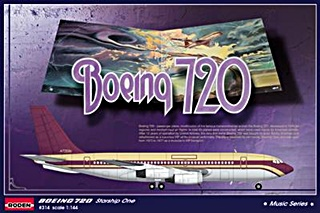 BOEING 720 STARSHIP ONE 1/144